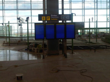 Asistencia TIC en varios aeropuertos.