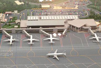 Estudio de Sistema de Telecomunicaciones. Aeropuerto Colombia