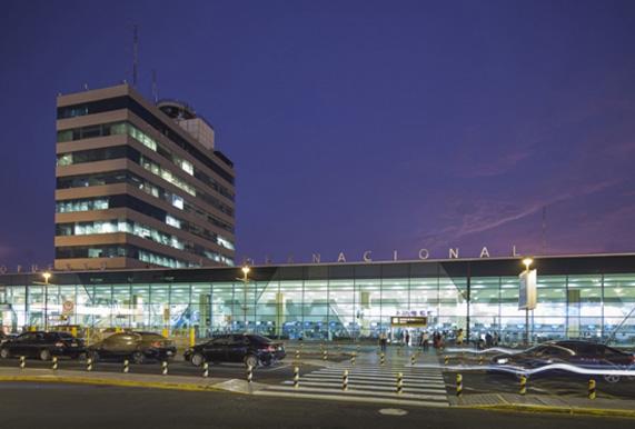 Implantacion de sistema operacional en aeropuerto Jorge Chavez, Lima